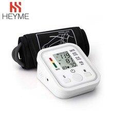 HEYME Автоматический цифровой верхний рычаг Монитор артериального давления пульсометр тонометр Сфигмоманометры пульсометр