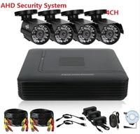 720P AHD 2 3 4CH CCTV System 4CH Mini DVR HVR NVR 3in1 DVR For CCTV
