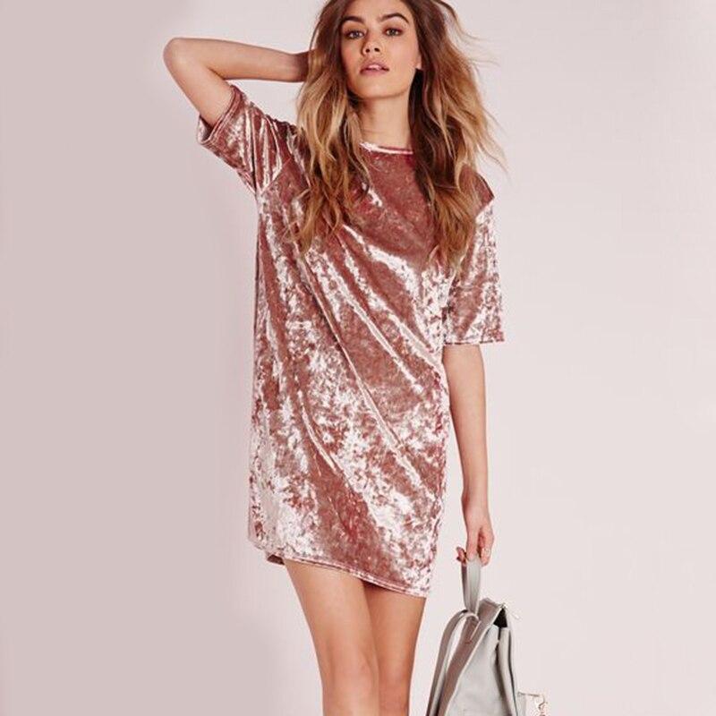 Spring Summer velvet dress women short-sleeved HTB1Pt9nllDH8KJjSszcq6zDTFXaY