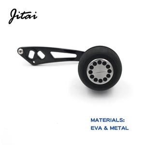 Image 4 - JITAI EVA Vissen Reel Handvat Aluminium Gat 8x5mm Enkele Rocker Vervanging Voor Baitcasting Rollen Vissen Tool accessoires