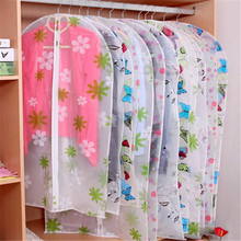 Clothing Covers printed Transparent clothing dust c