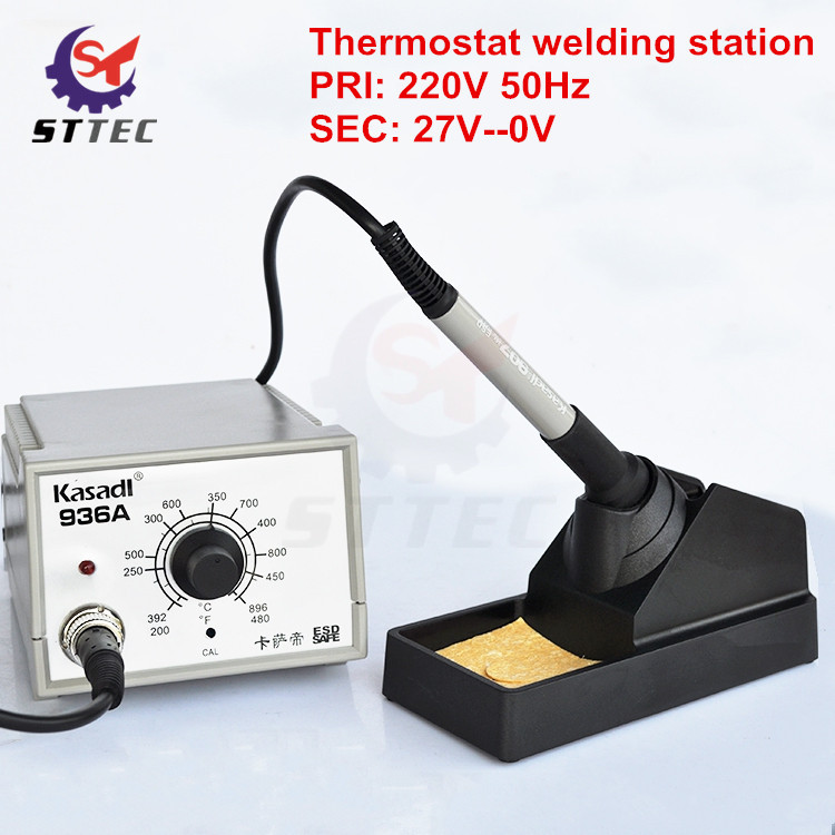 Free Shipping Welding Machine Adjustable Thermostat 220V Electric Iron Welding Station Welding Equipment
