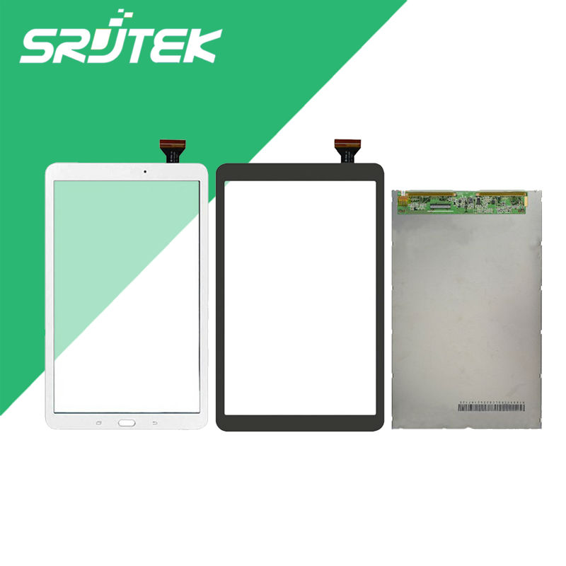 Srjtek T560 LCD Touch Panel For Samsung Galaxy Tab E SM-T560 T560 T561 LCD Display With Touch Screen Panel Digitizer Assembly brand new for samsung j1 lcd display with touch screen digitizer for samsung galaxy j1 j120f j120m j120h sm j120f lcd 3 color