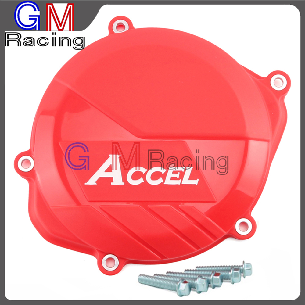 Motorcycle Plastic Clutch Guard Cover Protector For HONDA <font><b>CRF450R</b></font> CRF 450R CRF450 2009 <font><b>2010</b></font> 2011 2012 2013 2014 2015 2016 image