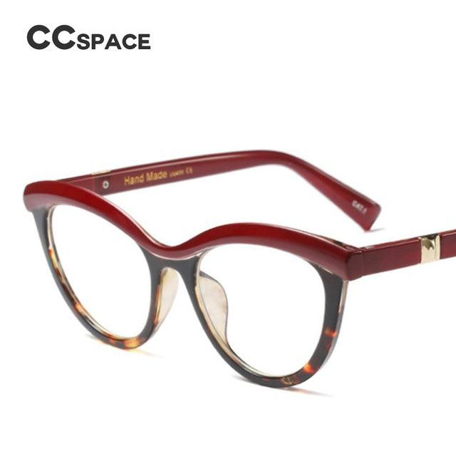 45490 Ladies Eyebrows Square Glasses Frames Women Brand Designer Optical EyeGlasses Fashion Eyewear Computer Glasses 4