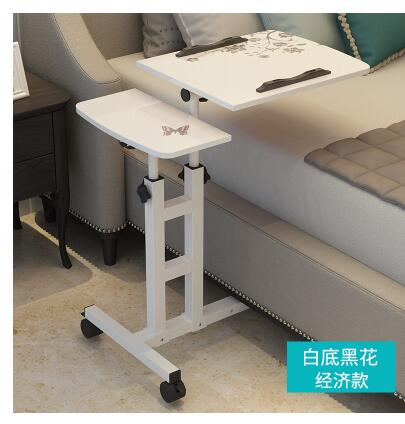 Lazy notebook bed bedside computer desk removable dormitory lift folding table simple land table. 250632 laptop table lazy table bedside lift lift simple desk simple lazy little desk anti slip baffle design