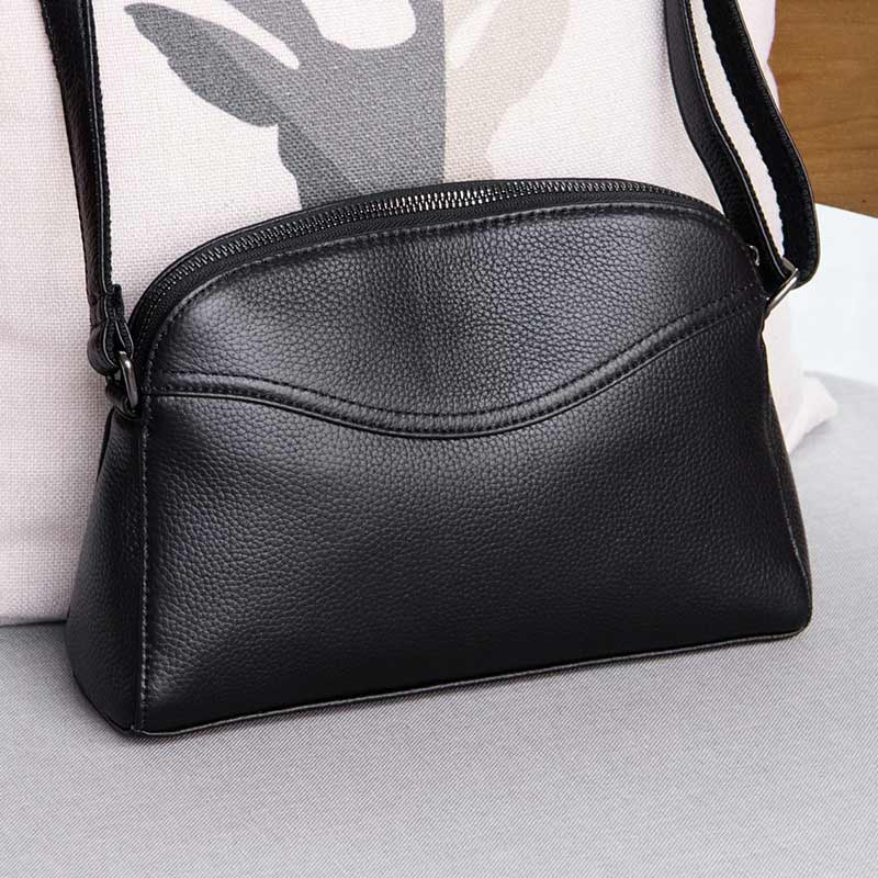 New Genuine Leather Women's Bag Fashion Small Crossbody bags for women Shoulder Messenger Bag Luxury Female Party Purse Handbags women handbags new fashion pu leather party clutch bags soft fold over phone purse lady shoulder bag superfine messenger bag