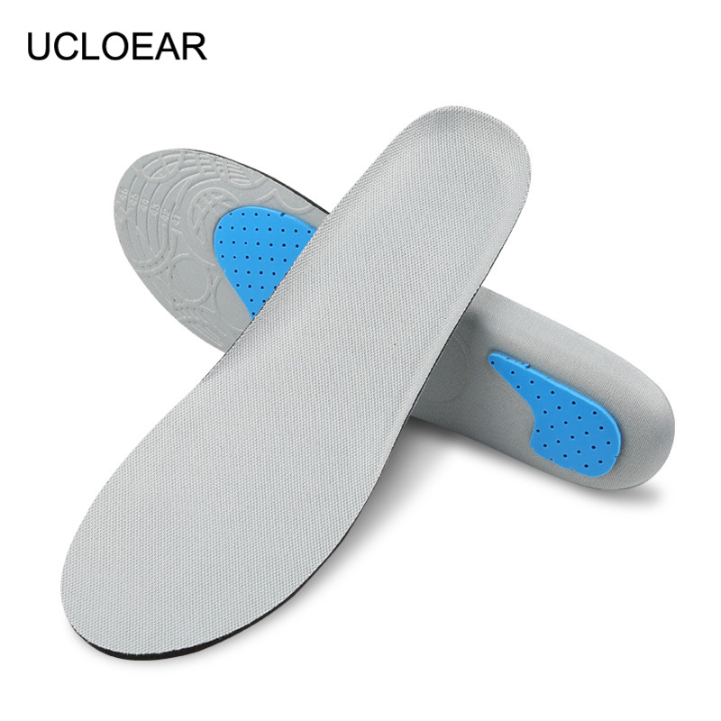 Sport Breathable Insoles Soft Comfortable Outdoor Shoe Insole Non-slip Unisex Shock Absorbant Insole Running Shoes Pad XD-051 mulinsen men s running shoes blue black red gray outdoor running sport shoes breathable non slip sport sneakers 270235