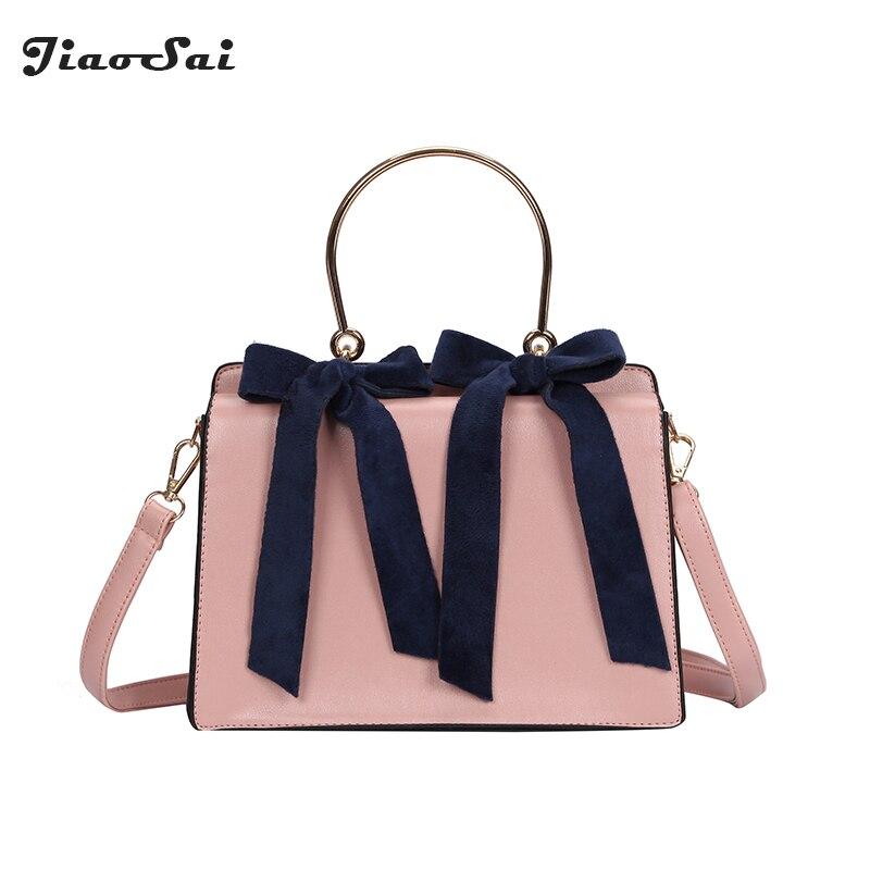 Шарф Для женщин сумки Сумки Для женщин известных брендов Pu кожаная сумка с металлической ручкой сумка лук сумка Bolsa