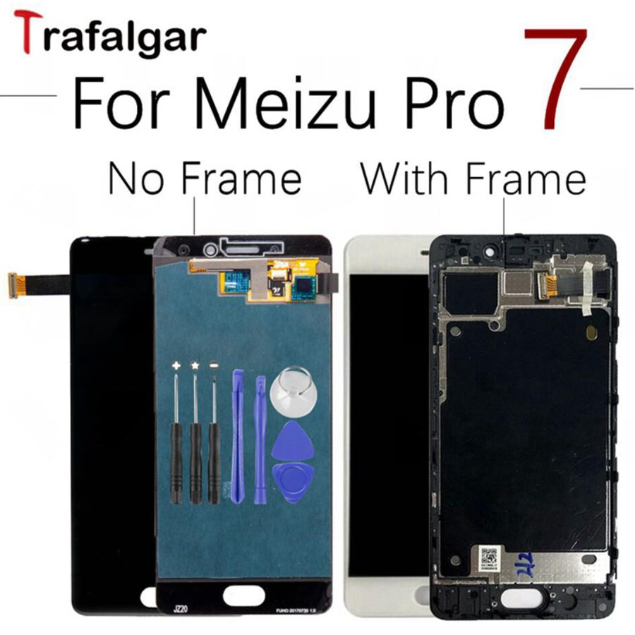 Meizu Pro 7 LCD Display Touch Screen Digitizer Assembly For MEIZU PRO 7 LCD With frame