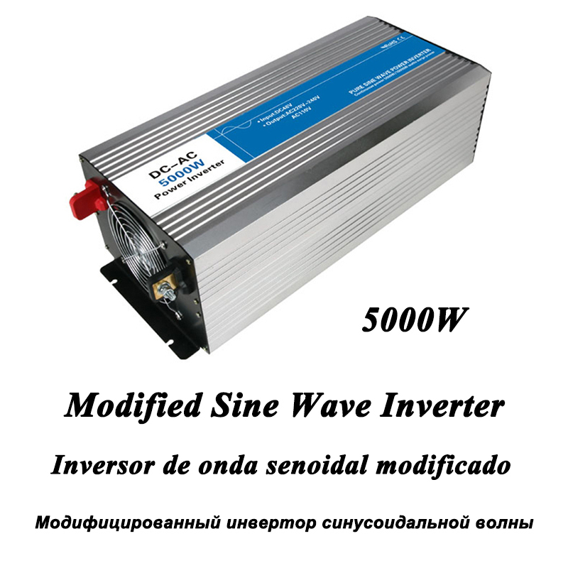 DC-AC 4000W Modified Sine Wave Inverter,LED Digital Display,with USB,DC to AC Frequency Converter Voltage Electric Power Supply мультиметр uyigao ac dc ua18