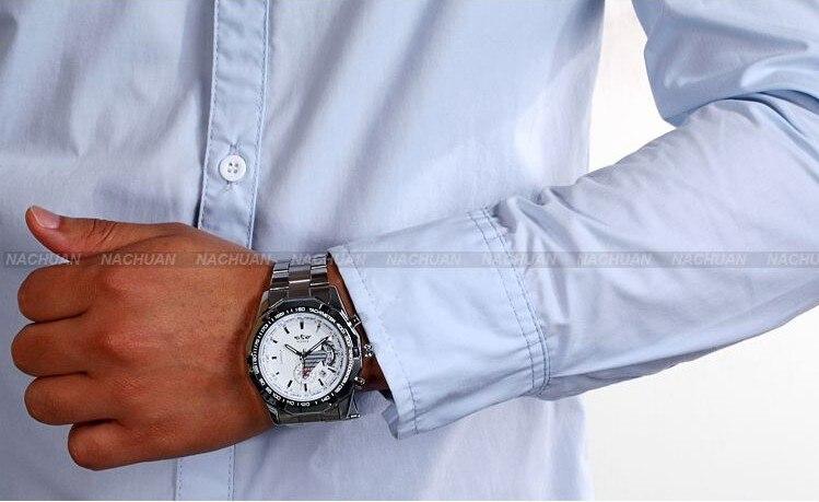2018 Fashion Men montre Winner Brand horloges mannen Stylish Skeleton Classic Automatic relogios clock men Mechanical Watch 6