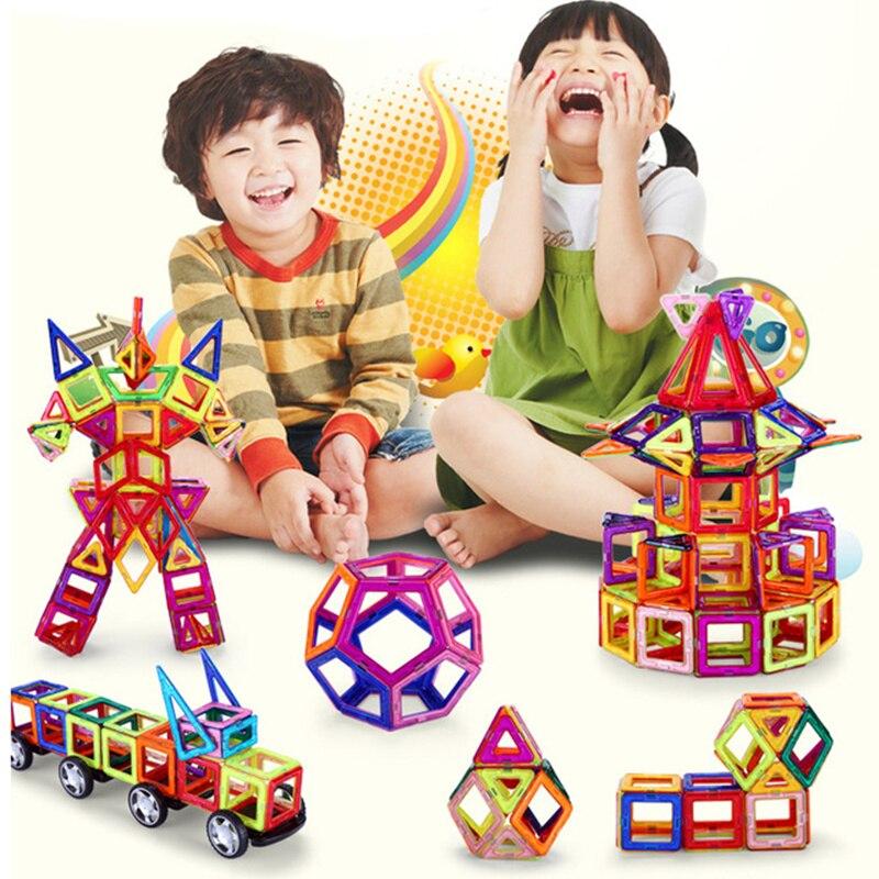 164pcs 64pcs mini magnetic designer construction set model building toy plastic magnetic. Black Bedroom Furniture Sets. Home Design Ideas