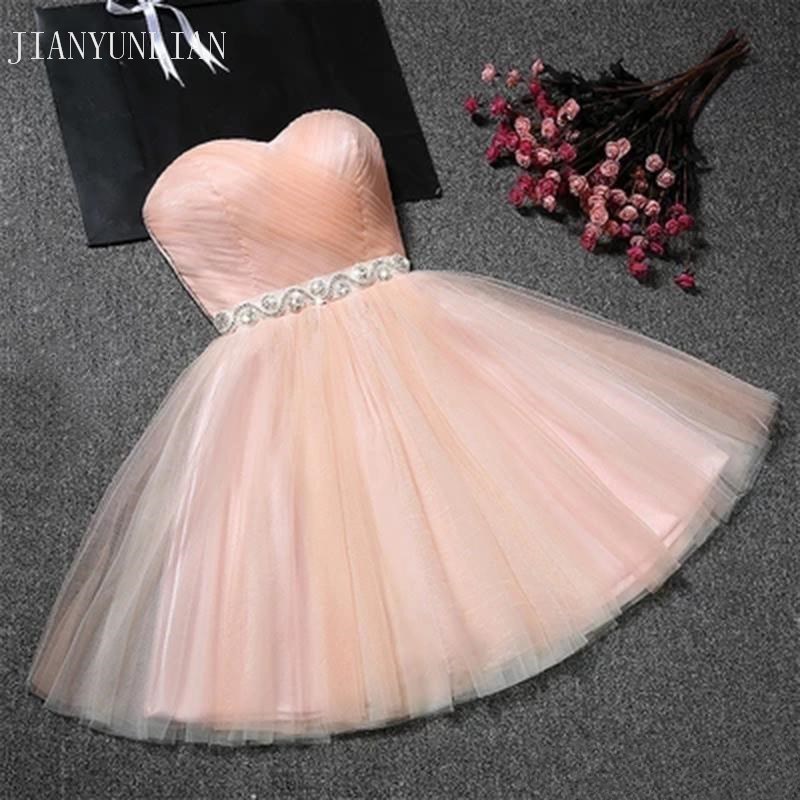 Real Sample Cheap Mini Party   Dress   Sexy Pink Short Tight Homecoming   Dresses   2019 Short Grade   Prom     Dresses   Vestido de Festa Curto
