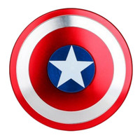 Captain America Shield Finger  Spinner Metal EDC For Autism And ADHD Spinner Anti Stress Toys For Adults