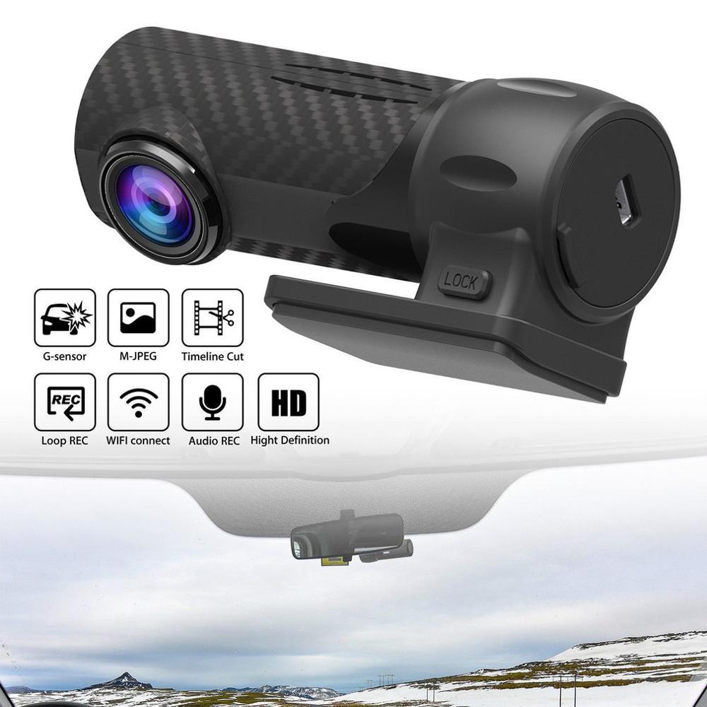 1080P HD Car Camera DVR Dash Cam Recorder With WiFi G-sensor Parking Mode WIFI HD Car Monitoring Cam