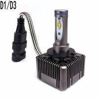 D1S D1R D3S D3R LED All In One Car Headlight Replacement Bulb 72W 8000Lm 6000K 12V