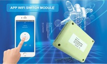 4CH 12V Sensible Wi-fi WiFi Mild Swap wi-fi Module Managed by Cellphone On Android and IOS for Residence Automation Storage Door