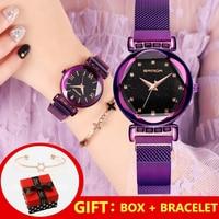 2019 Luxury Roman Women Watches Rose Gold Bracelet Crystal Quartz Ladies Watch Dress Diamand Female Wristwatch relogio feminino