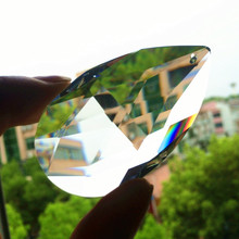 Glass Crystal Lighting Chandeliers-Parts Pendants Rainbow-Lamp Prisms Clear Hang-Drops