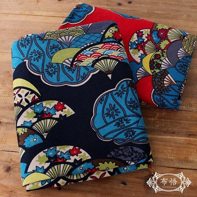 100 Cm * 145 Cm Coton Lin Japonais Patchwork Tissu Tissu Japonais