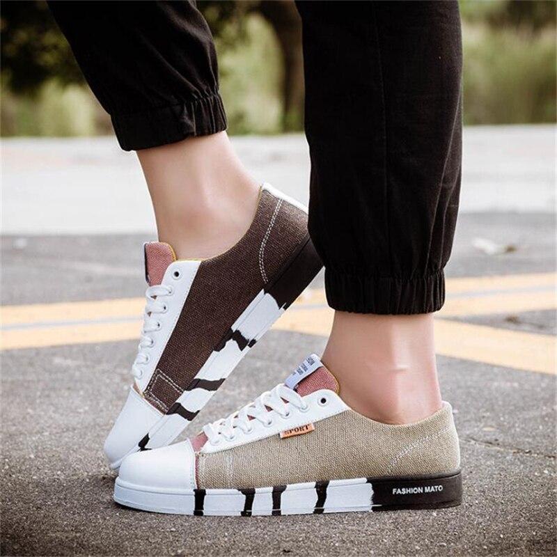 Breathable Men Causal Shoes New Design Superstar Lace Up Comfort Men Shoes Leisure Walking Shoes Men Flat Fashion canvas