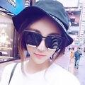 Men Women Retro Vintage Sunglasses Designer Oversized Mirror Lens Eyewear Shades