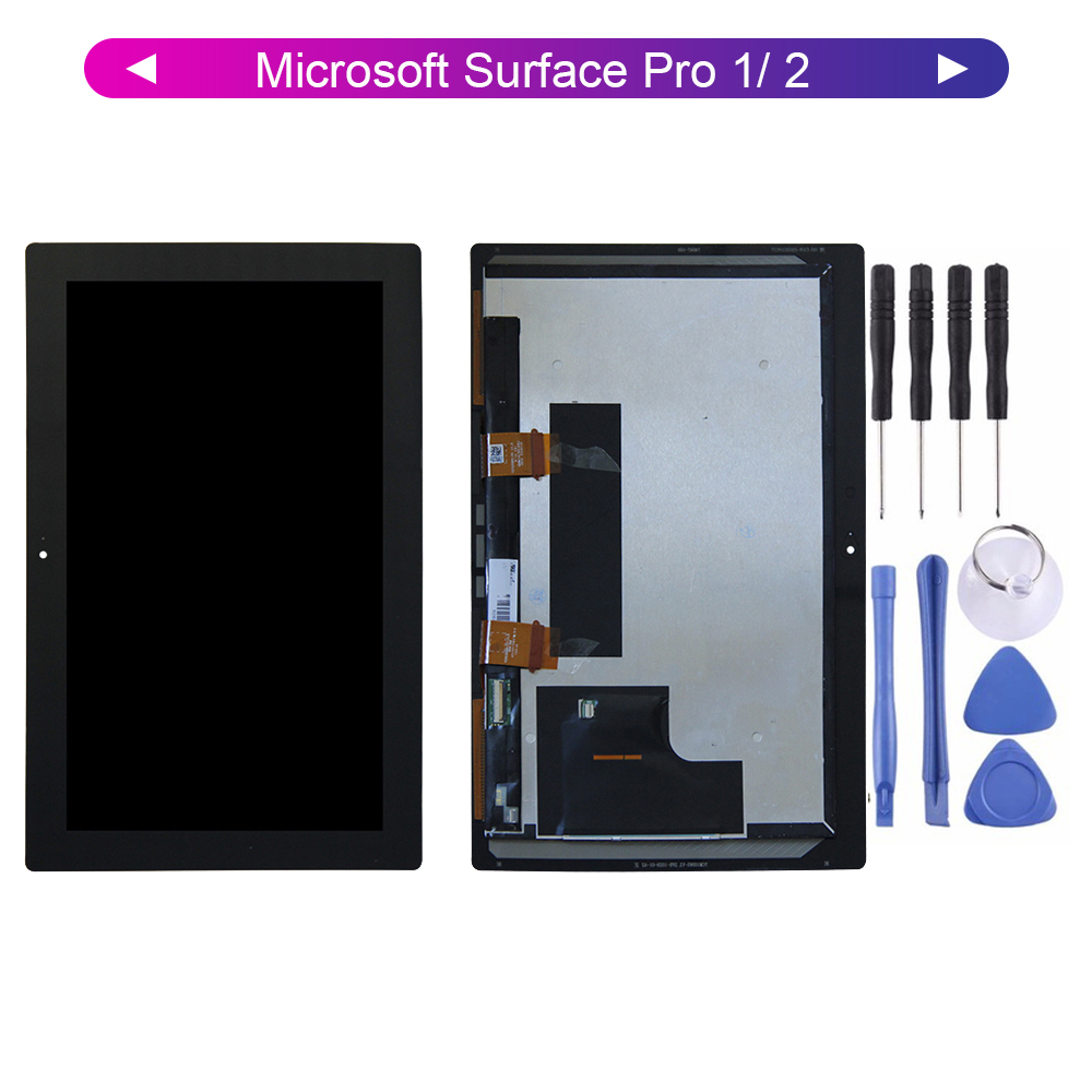 Original For Microsoft Surface Pro 1/ 2 Pro 1 Pro 1514 2 1601  LCD Display Screen Digitizer Touch Panel Glass Assembly + Tools