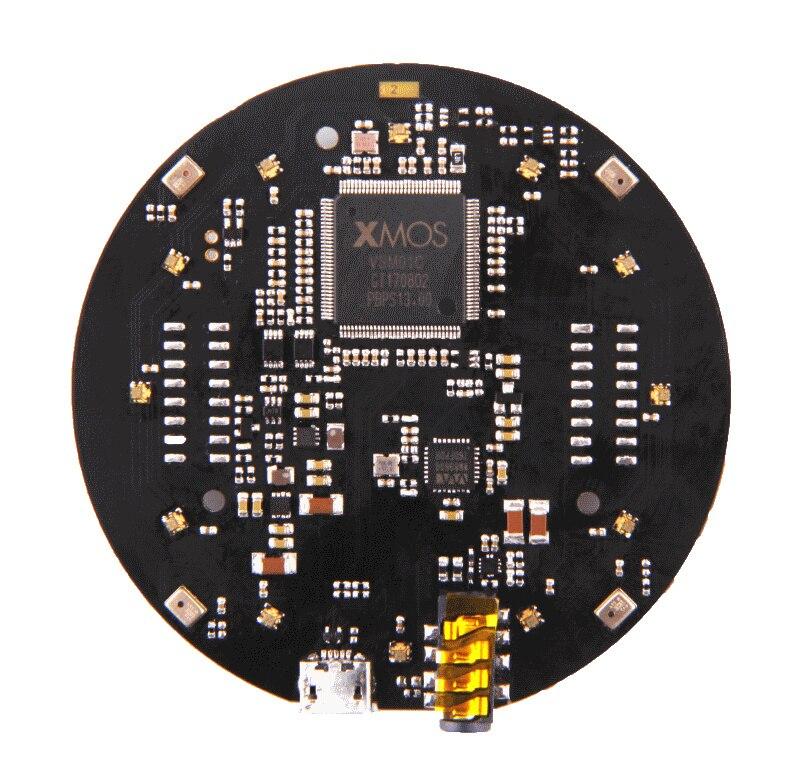 Prend en charge la Capture vocale à champ lointain 4 microphones numériques haute performance pour le réseau de micro de ReSpeaker v2.0 pour le capteur tactile Arduino