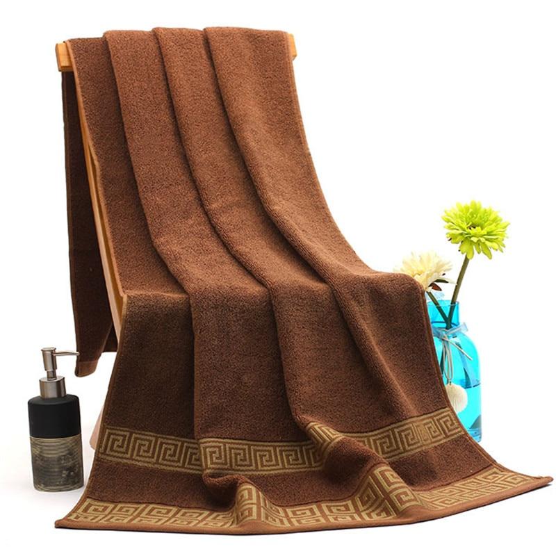 70*140 cm 100% Coton De Bain De Vacances Plage Serviettes Marque pour Adulte Grande Taille Textile de Maison Salle De Bains Serviettes dans Bath Towels de Maison & Jardin