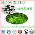 Organic Natural Spirulina Powder Softgel Capsule 500mg*100pcs
