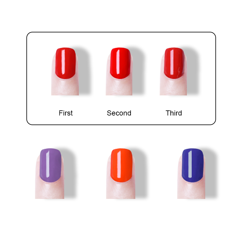 LEMOOC Free Shipping Nail Art Design Manicure Gel Varnish 8Ml Soak Off Vernis Semi Permanant UV Gel Nail Polish Lacquer in Nail Gel from Beauty Health