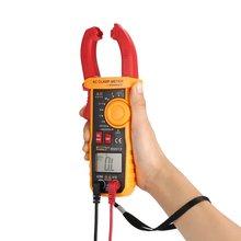 SZBJ BM818 Digital DC/AC Clamp Meter Multimeter Volt Amp Ohm Diode NCV Capacitance Tester Handheld Non Contact Ammeter Tester mastech ms2109a auto range digital ac dc clamp meter 600a multimeter volt amp ohm hz temp capacitance tester ncv test