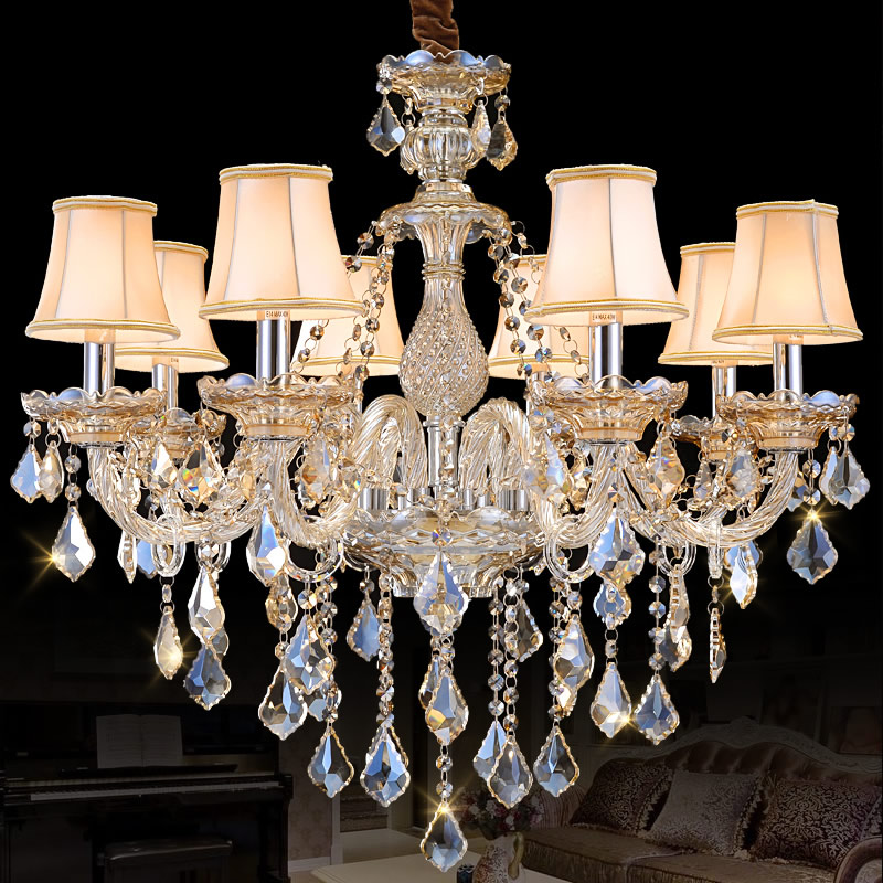 Modern chandelier for Living Room Bedroom chandelier Lights Top K9 Cognac chandelier Lighting Modern crystal lights Chandelieres