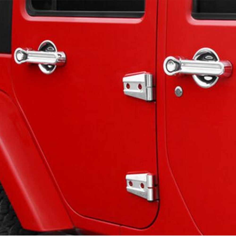 Car Parts Motors 5* Chrome Door Handle Cover Trim For 2007-2015 ...