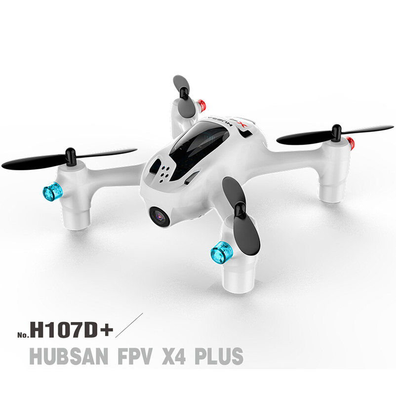 Hubsan FPV X4 Plus H107D+ with 720P HD Camera 6-axis Gyro RC Quadcopter RTF hubsan x4 camera plus h107d 520mah battery