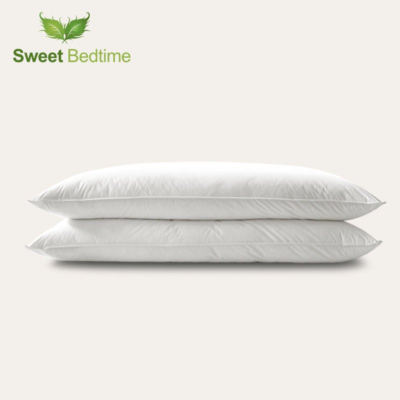 down surround 550 fill power duck down pillow insert twoseat feather pillow core down