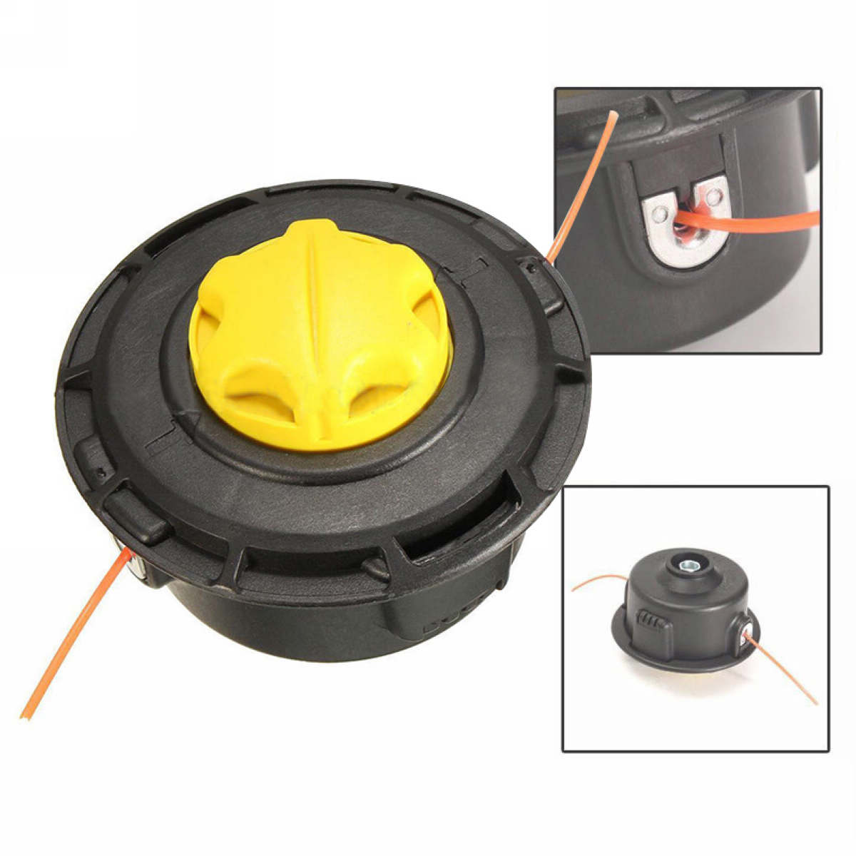 Mayitr New Trimmer Head For String Trimmer Replacement Bump Head Lawn Mower Parts Garden Tools 2016 new garden tools top quality charging grass trimmer portable home lawn mower with wheels trimmer grass trim level machine