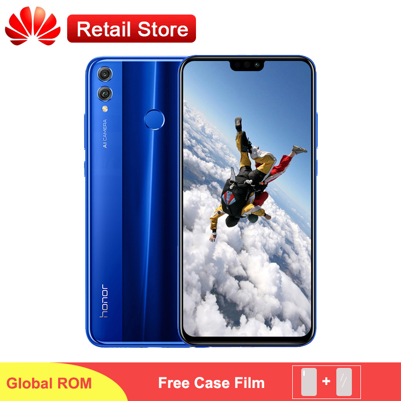 "Honor 8X Smartphone 6.5 ""FHD 1080x2340 3750 mAh Kirin 710 androida 8.1 4 GB 64 GB 20MP kamera AI linii papilarnych OTG telefon w Telefony Komórkowe od Telefony komórkowe i telekomunikacja na AliExpress - 11.11_Double 11Singles' Day 1"
