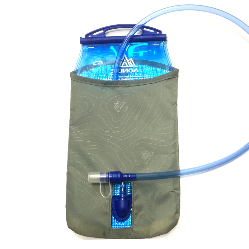 AONIJIE 1L/1.5L /2L Water Bladder Bag PEVA Hydration Bladder Cycling Hiking Camping Running Pack Water Bag aonijie outdoor water bag 1 5l 2l 3l for camping hiking climbing cycling running foldable peva sport hydration bladder