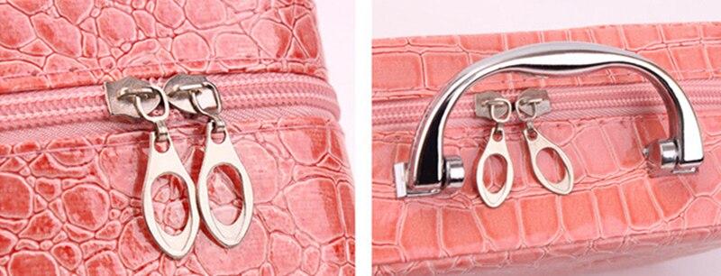 Pessoal Viagem Cosmetic Bag Multifuncional Armazenamento Make