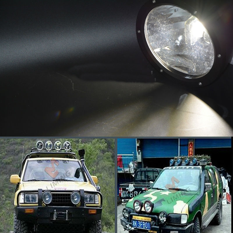 50W 7 9inch LED Working Driving Fog Light Car SUV Off road front bumper diamond Lamp with high intensity USA Cree LEDS Cannon 50w LED Driving Light (5)