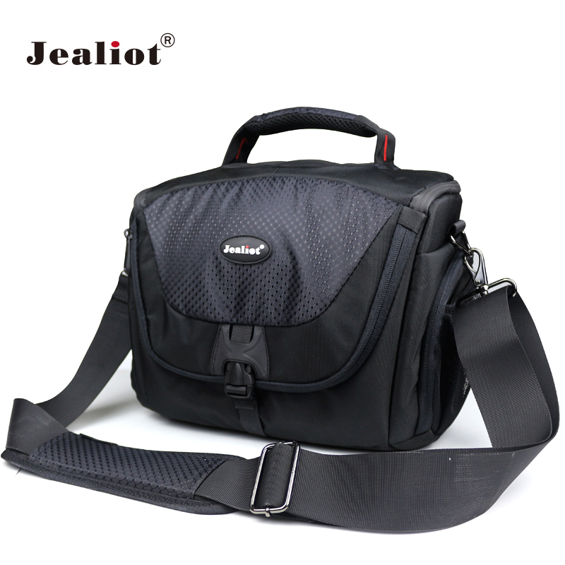 Jealiot DSLR Bag Polyester Shoulder Camera Bag digital Camera Photo lens Bag Case for Canon 500D