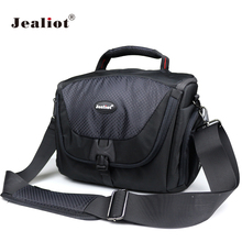Jealiot DSLR Camera Bag Polyester Shoulder Bag digital Camera Photo lens Bag Case for Canon Nikon Sony FujiFilm Olympus Panasoni