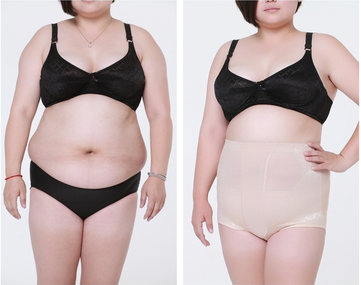 High Waist Plus Size Women Panties Body Shaper Beauty