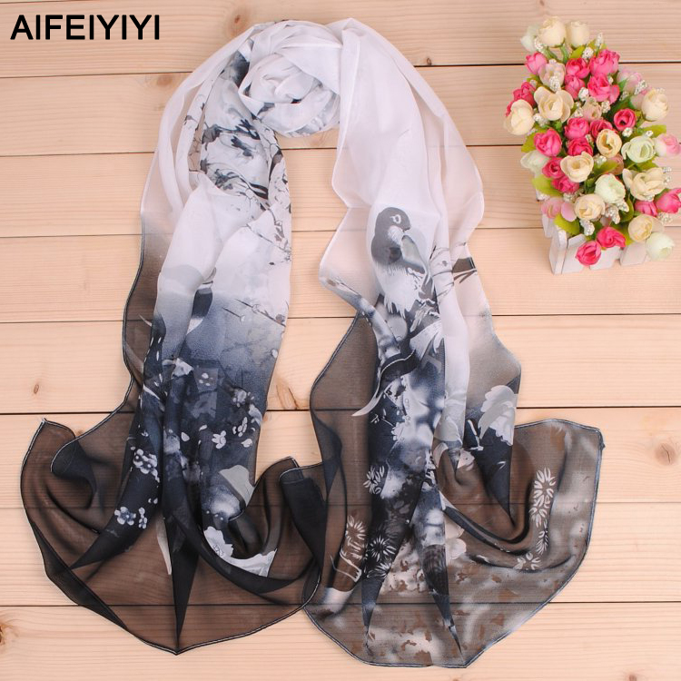 2018 Spring new magpie Primula Ms. AIFEIYIYI long scarves scarf