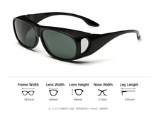 JackJad New Men Polarized Lense Driving Fishing Sunglasses Cover For Myopia Glasses POLAROID Sun Glasses Oculos De Sol Masculino