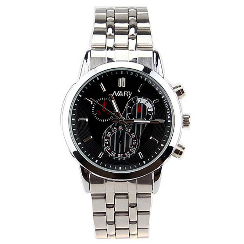 Fashion New Nary Brand Silver Stainless Steel Strap Unisex Watches Casual Couples Sport Fashion Wrist Watch
