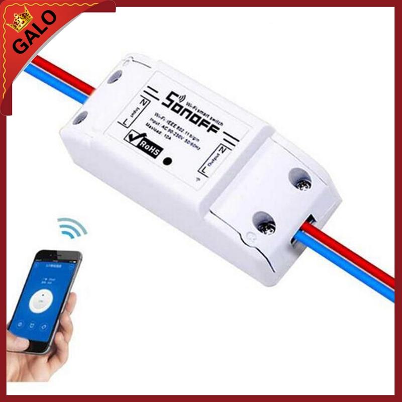 Wi Fi реле/Wi Fi Беспроводной Смарт модуль коммутатора ABS оболочки гнездо для поделок для дома пуговицы switch module switch switchswitch socket   АлиЭкспресс