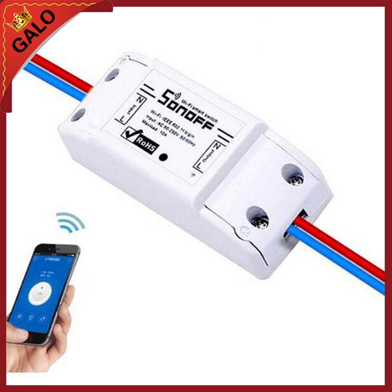 Wifi Relay Switch/WiFi Wireless Smart Switch Module ABS Shell Socket For DIY Home